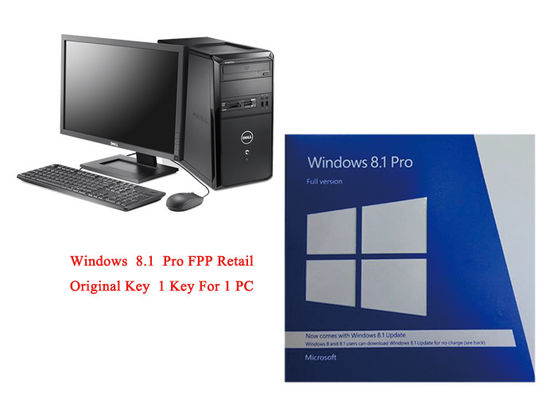 China PC volle aktivieren die Pro-64 Bit-Software Versions-Microsoft Windowss 8,1 online fournisseur