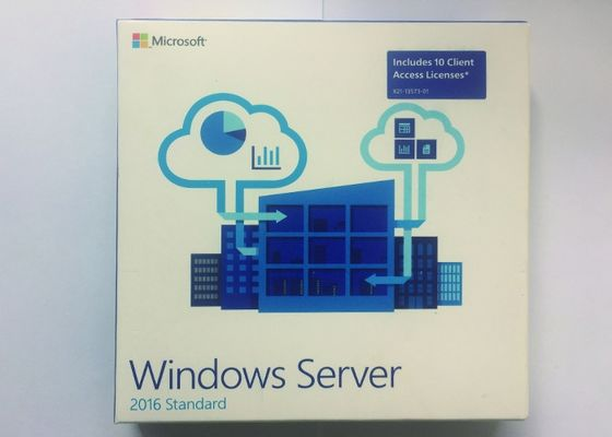 FPP-Satz 64Bit Windows Server 2016 Standard-Soem-Englisch 1 Gigahertz